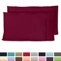 Cosy House 1500 Ultra Soft Pillow Case Set of 2 Standard or
