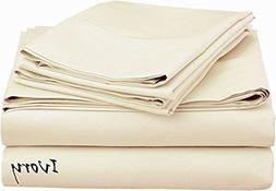 Luxurious Finish Comfortable Sleeper Sofa Bed Sheet Set, Pur