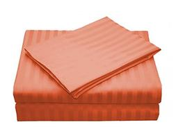 AMRICH provides you Orange Colored, Striped Patterned, Queen