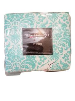 Italian Luxury Queen 4 Pc Damask Sheet Set