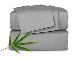 Pure Bamboo Sheets Queen 4pc Bed Sheet Set - 100% Bamboo Lux