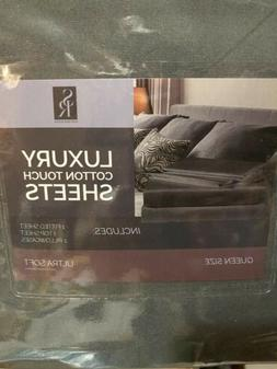 Sleep Restoration Queen Dk. Grey Sheet Set