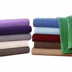 QUEEN Flannel Sheets 5 oz Deep Pocket Ultra Soft Sheet Set 1