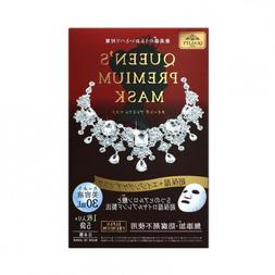 【QUEEN'S FIRST】PREMIUM MOISTURIZING FACIAL MASK NIB  US