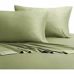 Queen Sage Silky Soft Bed Sheets 100% Bamboo Viscose Set Hom