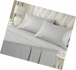 King Size Sheet Set - 4 Piece Set - Hotel Luxury Bed Sheets