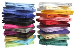 Queen Size Bed Sheet Set All Extra Deep Pkt & Colors 1000 TC