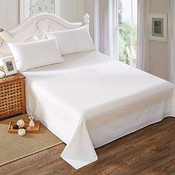 Queen Size 400 Thread Count 100% Cotton Bed Sheets Set – D