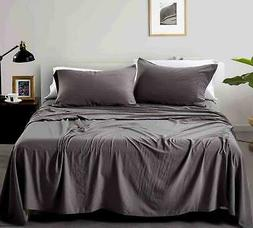 California Design Den Relaxed Washed Solid Deep Pocket Bed S