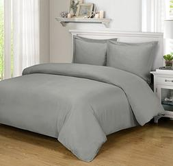 Silky Soft Bamboo Cotton Hyrbid Duvet Covers, 3pc Duvet Cove