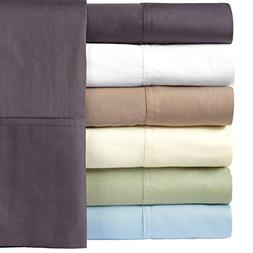 Royal Hotel Silky Soft Bamboo Queen Cotton Sheet Set - Charc