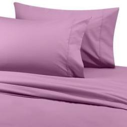 Six  Piece OLYMPIC QUEEN Size, LAVENDER Solid Solid / Plain,