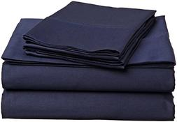 Sheetsnthings Bed Sheet Set, 300 Thread Count - Queen Solid
