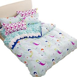 Sookie 3 Piece Duvet Cover Set with 2 Pillow Shams - 800 Thr