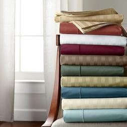 Split Sheet Set Extra Deep Pkt Striped All Color & Sizes 100