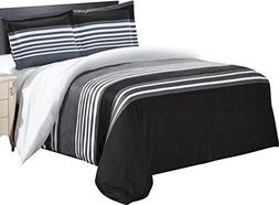 Utopia Bedding Printed Duvet-Cover-Set - Brushed Velvety Mic