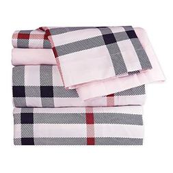 Dor Extreme Super Soft Luxury Black, Red, and Pink Checkered