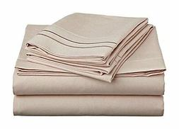 Clara Clark Supreme 1500 Collection 4pc Bed Sheet Set - Quee