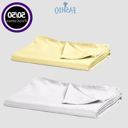 Twin Flat Sheets | Full Flat Bed Sheets | Flat Sheet for Que