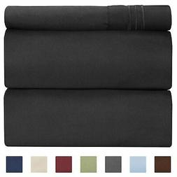 CGK Unlimited Twin Size Sheet Set - 3 Piece Set - Hotel Luxu