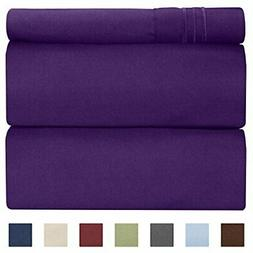 CGK Unlimited Twin XL Sheet Set - 3 Piece - Fits College Dor