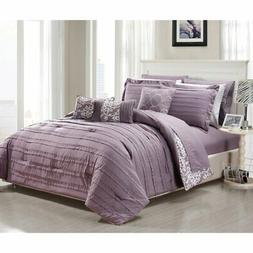 Chic Home Zarina Reversible Bed in a Bag Comforter Set